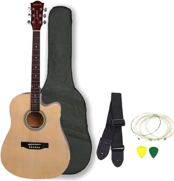 KADENCE KAD-NAT-41J-EQ-C Spruce Acoustic Guitar