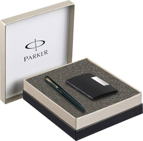 Parker Frontier GT Fountain Pen with Card Holder