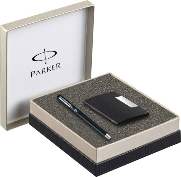 Parker Vector Standard CT Fountain Pen with Card Holder