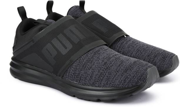 dd4cfb767c47 Puma Enzo Strap Knit Running Shoes For Men