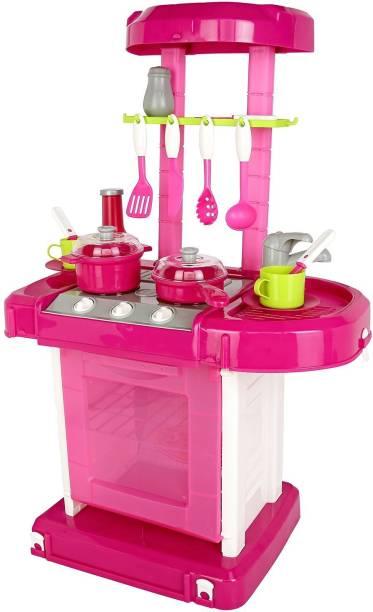 Hamleys Comdaq Kitchen Playset with Music and Light