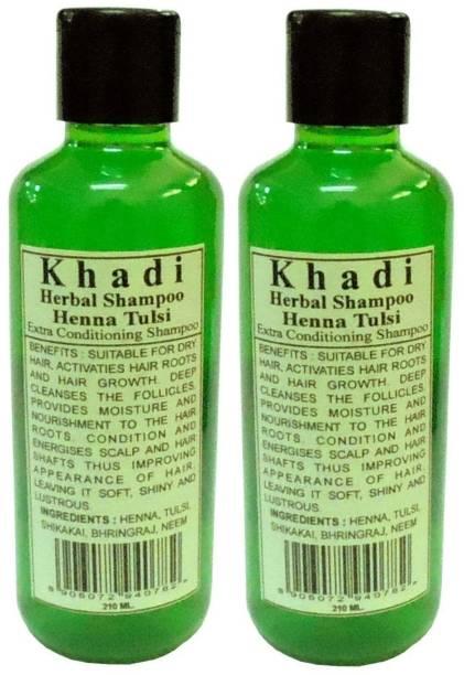 Khadi Herbal Henna & Tulsi shampoo