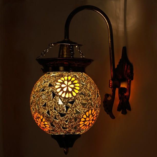 EarthenMetal Pendant Wall Lamp