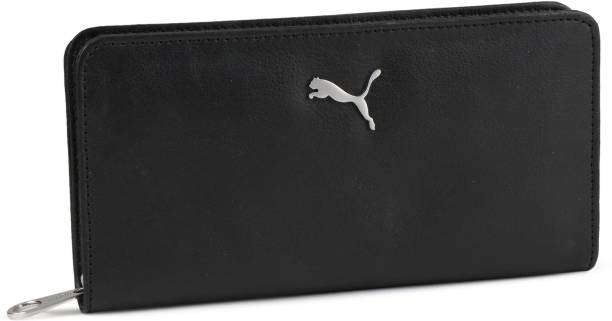 Puma Women Black Artificial Leather Wallet