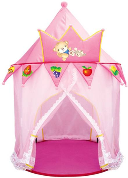 Webby Indoor Outdoor Playhouse Children Girl Pop-up Princess Tent