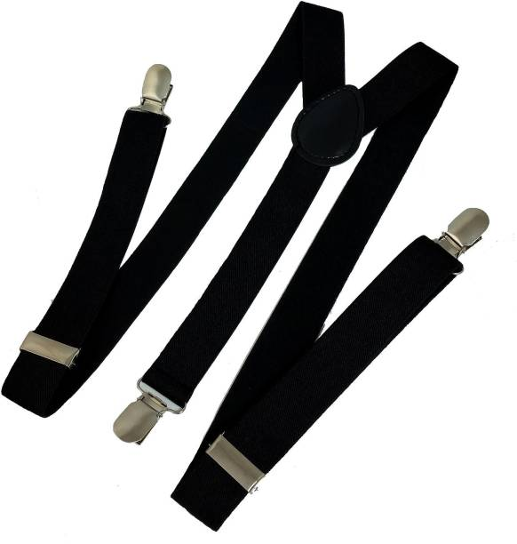 Bsquare Y- Back Suspenders for Men, Women