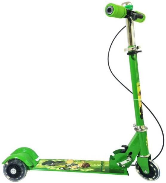 vbenterprise Green Scooter