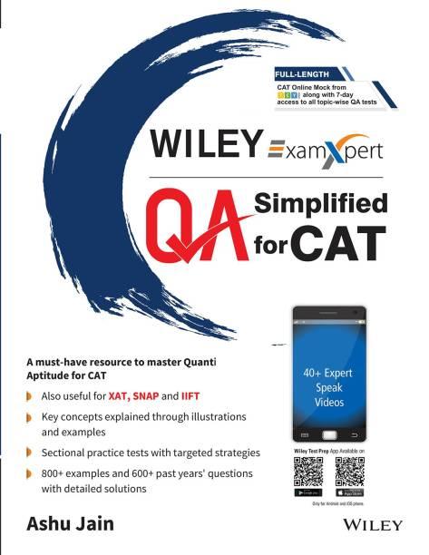 Quantitative Aptitude Simplified for CAT First Edition