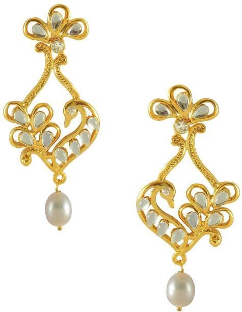 9baa85854da5e Chandrani Pearls Earrings - Buy Chandrani Pearls Earrings Online at ...