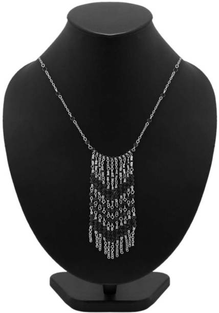 ab37caec17c3f7 Silver Necklace - Buy Silver Necklace online at Best Prices in India ...