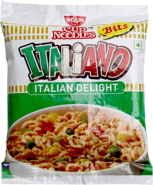 Nissin Bits Italiano Cup Noodles Vegetarian