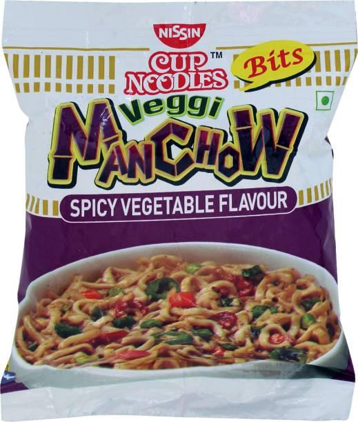 Nissin Bits Veggie Manchow Cup Noodles Vegetarian