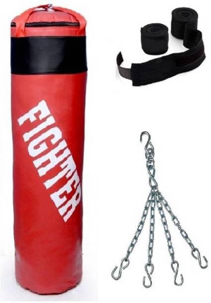 Fighter red punching bag Banana Bag