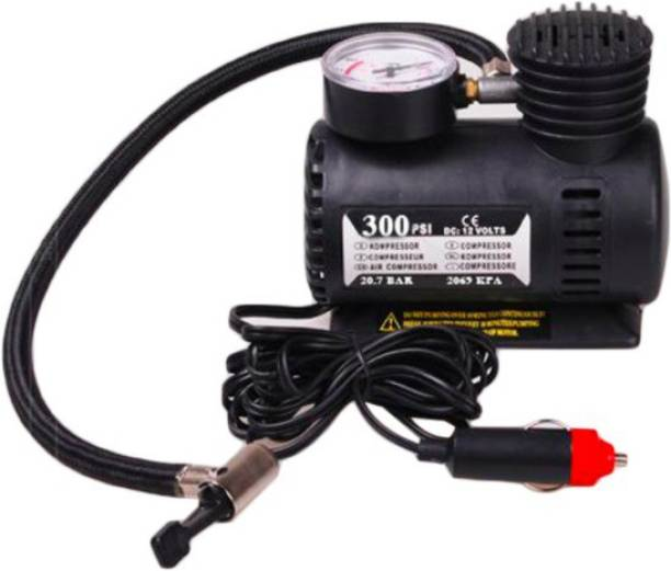 CorebikerZ 300 psi Tyre Air Pump for Car & Bike