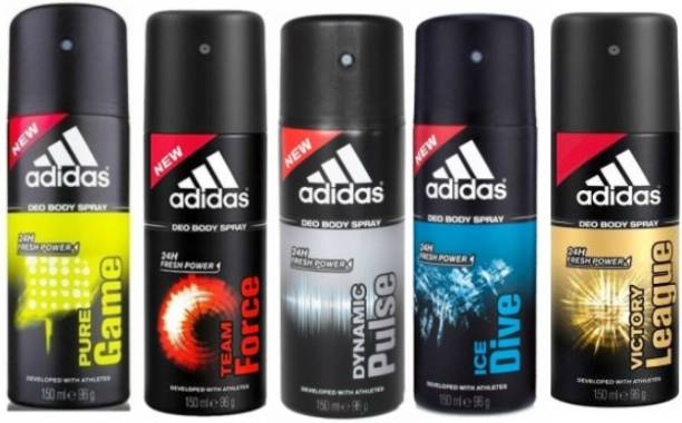 ADIDAS Pure Game Team Force Dynamic Pulse Ice Dive Victory League Deodorant Spray  -  For Men