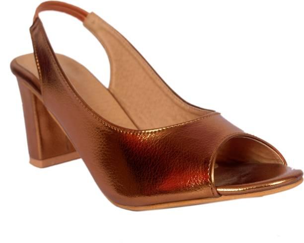 0552c24e54e Brown Heels - Buy Brown Heels Online at Best Prices In India ...