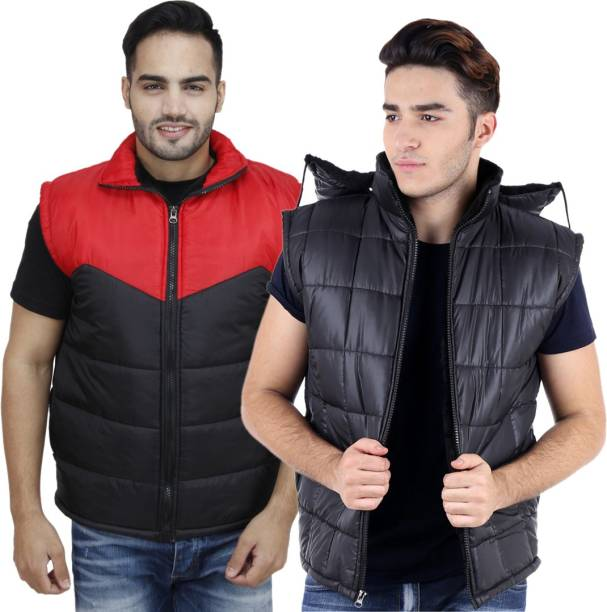 7aa3d3457ea08c Sleeveless Jackets - Buy Sleeveless Jackets Online at Best Prices In ...