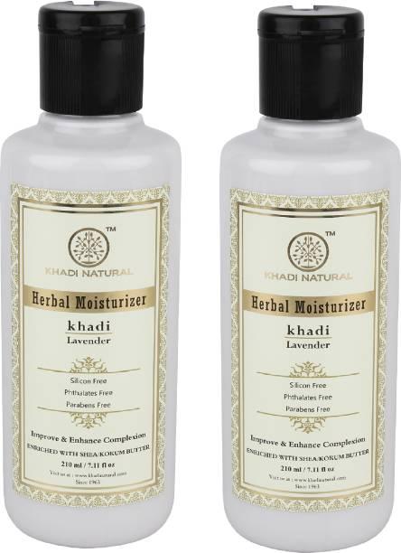 Khadi Natural Organic Lavender Fairness Moisturizer SLS & Paraben Free