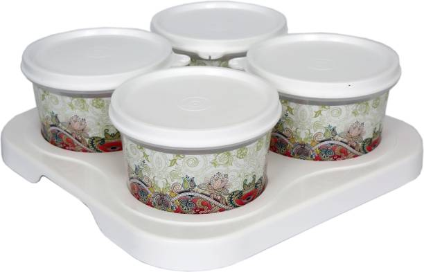 Jaypee Plus Serve 4 white Tray, Container Serving Set