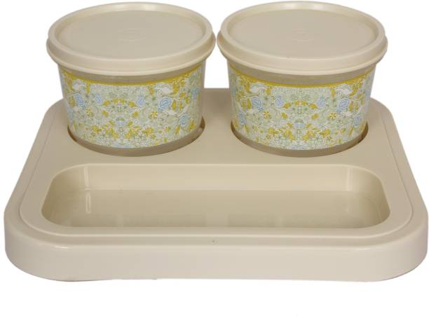 Jaypee Plus Serve 2 Ivory Tray, Container Serving Set