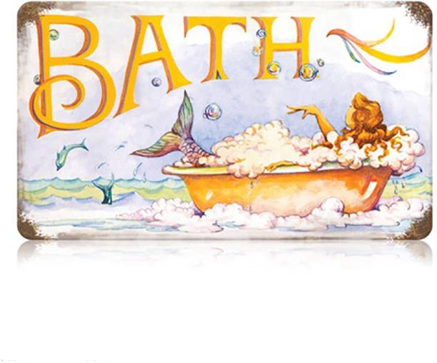 Sehaz Artworks Bath Sign