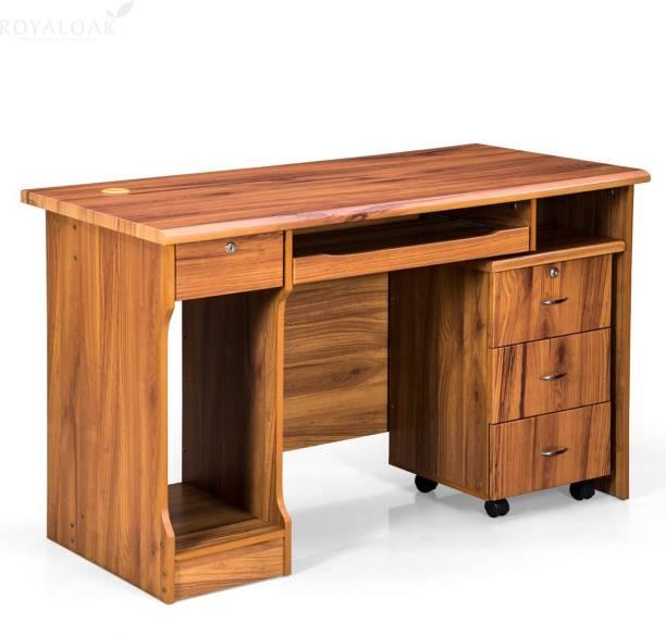 Royaloak Petal Engineered Wood Office Table