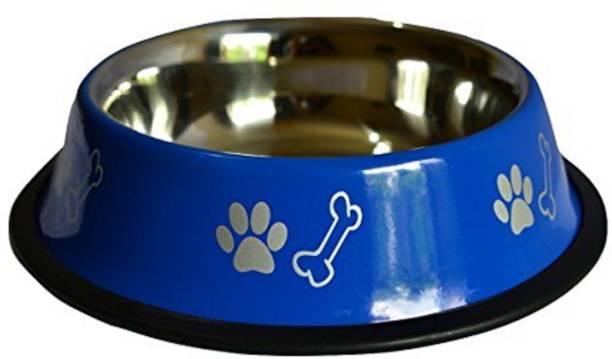 FOODIE PUPPIES Round Steel Pet Bowl