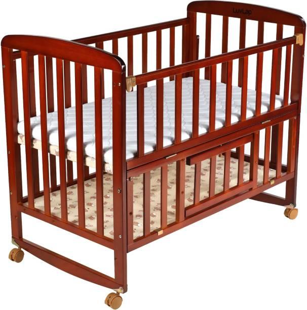 LuvLap Baby Wooden Cot