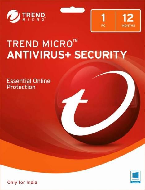 Trend Micro Anti-virus 1.0 User 1 Year