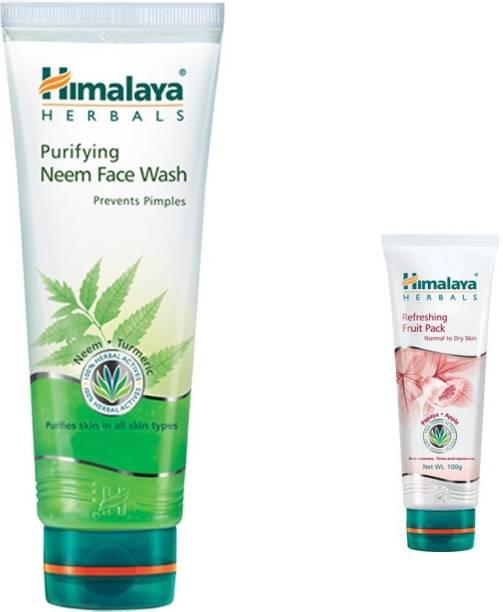 Himalaya Herbals Purifying Neem Face Wash, Refreshing Fruit Pack