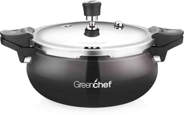 Greenchef Hard Anodized IB Unique Cooker 5 L Induction Bottom Pressure Cooker