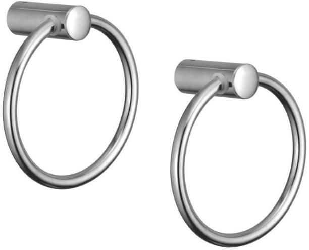 KAMAL Towel Ring Esteem (Set of 2) 4 inch 1 Bar Towel Rod