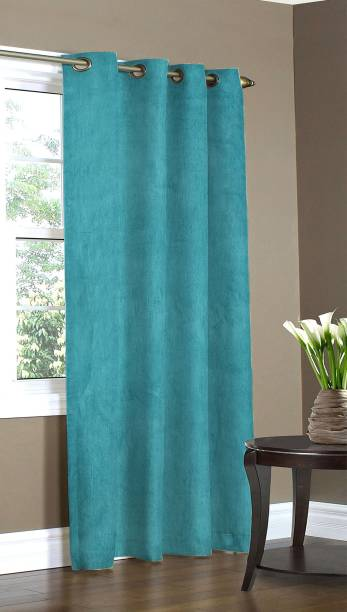 Home Candy 274 cm (9 ft) Polyester Long Door Curtain Single Curtain