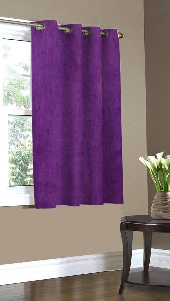 Home Candy 152 cm (5 ft) Polyester Window Curtain Single Curtain