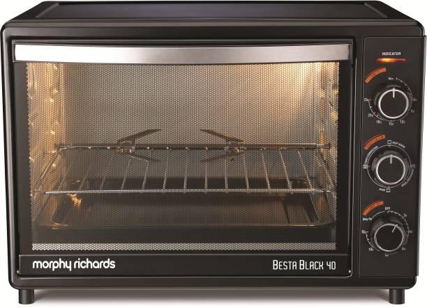 Morphy Richards 40-Litre BESTA BLACK 40 Oven Toaster Grill (OTG)
