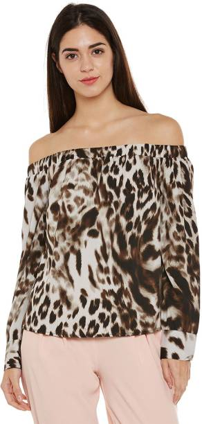 Animal Print Tops - Buy Animal Print Tops Online at Best Prices In ... ec362074e