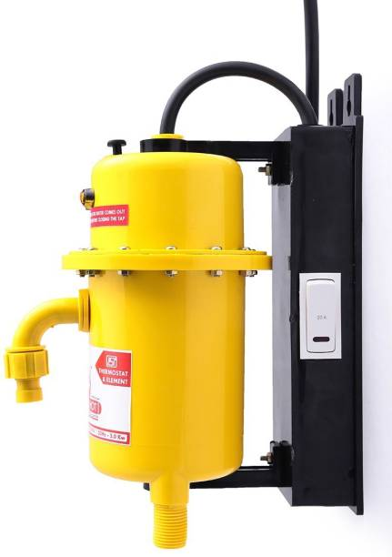 Mr.SHOT 1 L Instant Water Geyser (PRME, Yellow)