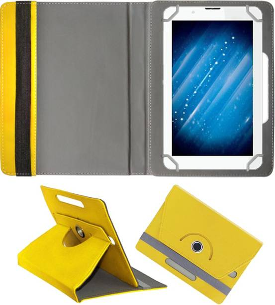 Fastway Book Cover for Swipe W74 Tablet (7 inch, 8GB, Wi-Fi+3G with Voice Calling)
