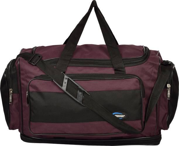 Trekker (Expandable) DFHB1PLBLK20 Travel Duffel Bag d8ff97b6991d1