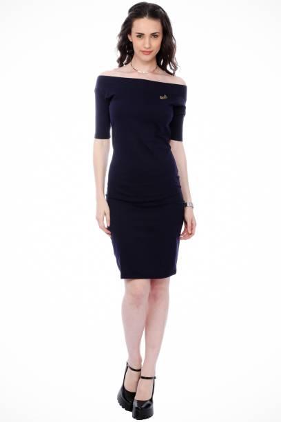 b6dc1b0e624a Off the Shoulder Dress - Buy Off the Shoulder Dresses Online at Best ...