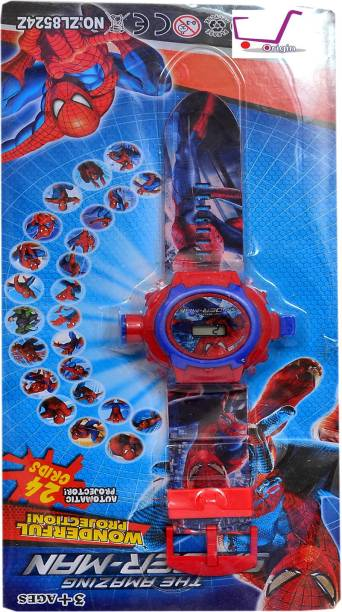 Origin The Amazing Spider Man Watch with Wonderful projection of 24 grids
