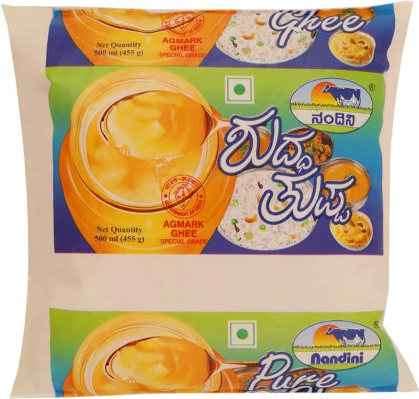 Nandini Cow Ghee 500 ml Pouch