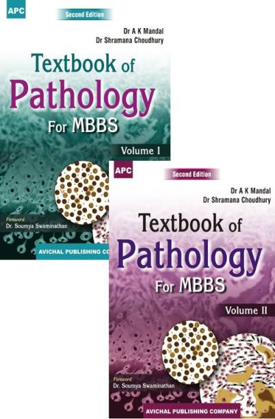 Textbook of Pathology for MBBS (Volumes I and II)