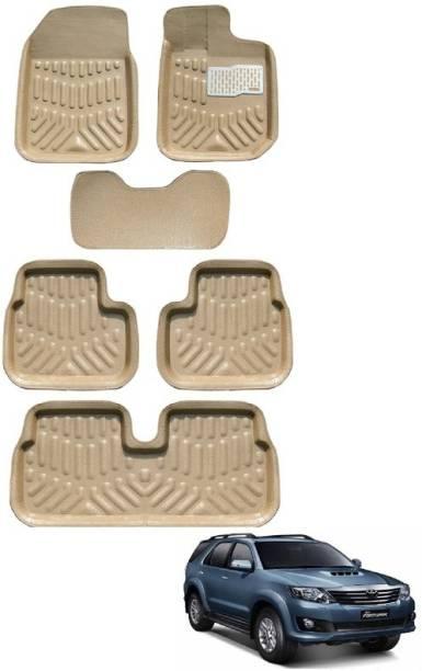 MOCKHE Plastic 3D Mat For  Toyota Fortuner