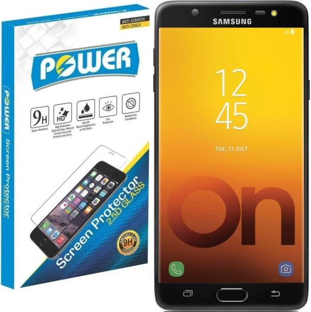 Power Tempered Glass Guard for Samsung Galaxy On Max