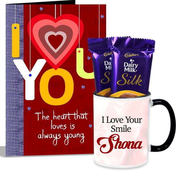 Alwaysgift Love Is Always Young Mug With Card Hamper Gift Set