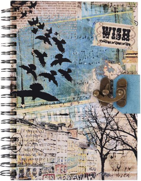 Craft Play Handmade diary A5 Diary Unruled 96 Pages