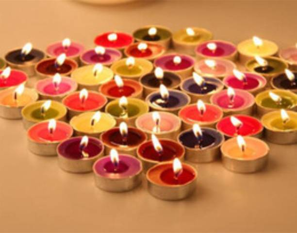 Lovato multicolor tealight candle Candle