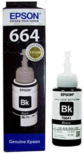 Epson T6641 BLACK Single Color Ink Cartridge