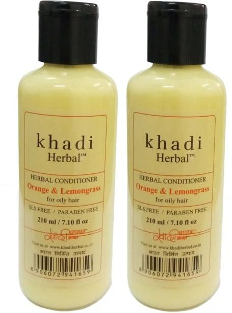 Khadi Herbal Oranage & Lemongrass conditioner (SLS & Paraben Free)
